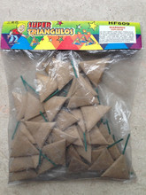 Loud triangle firecrackers or cracker bomb fireworks