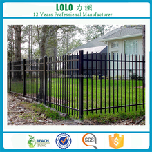 Low Price Removable Metal Galvanized Steel Garden Fence