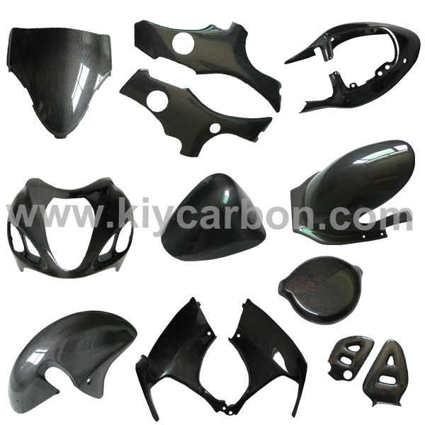 Fairings for Hayabusa carbon fiber motorcycle parts for Suzuki
