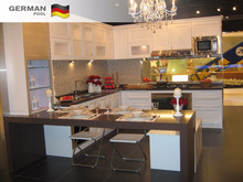 German Pool Custom Design High Quality Eco-friendly metal Dinning Pantry Kitchen Cabinets