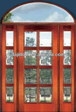 Luxury Lowes French Doors Exterior With Transom DJ-S9023STHA