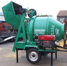 Diesel engines Portable used concrete mixer for sale