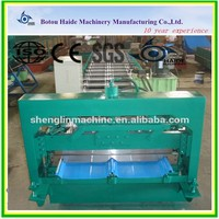 engineers available to go abroad fully automatic tile making joint hidden panels rolling machine