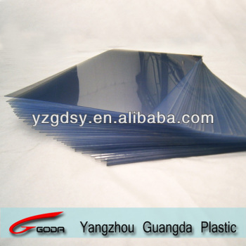 Super transparent rigid PVC sheets for silksreen printing