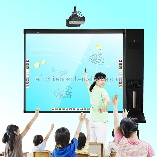 Digital technical education training writing board equipment computer all in one school whiteboard
