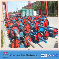 concrete power pole equipment with whole production line