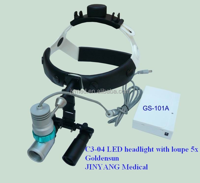 surgical LED head lamp magnifier portable