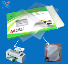 hotmelt EVA/PET film pouches lamianting pouch film A4 laminating pouch for photos and paper
