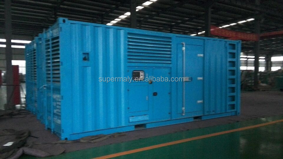 2MW diesel generator with low fuel consumption