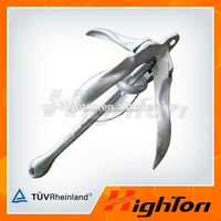 China manufacturers Small Stainless Steel marine Boat Folding Anchor
