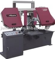 Double column band saw