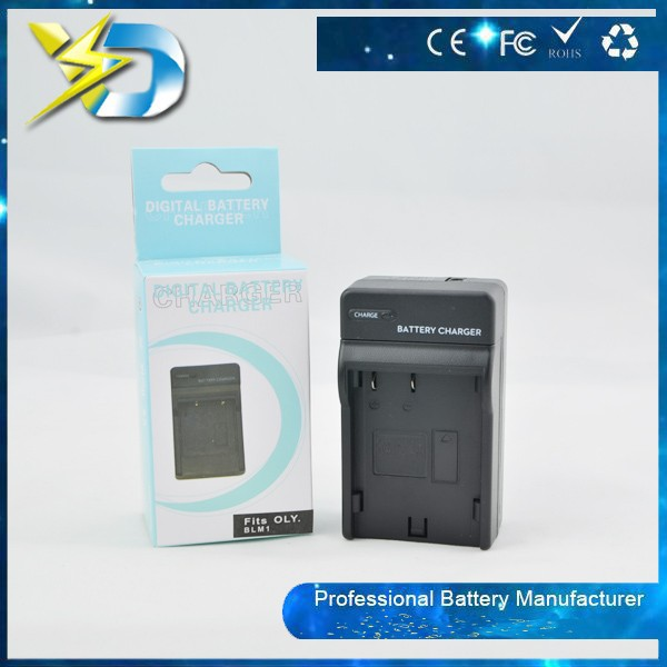 For OLY digital camera battery chrger use charger for OLY BLM-1 charger
