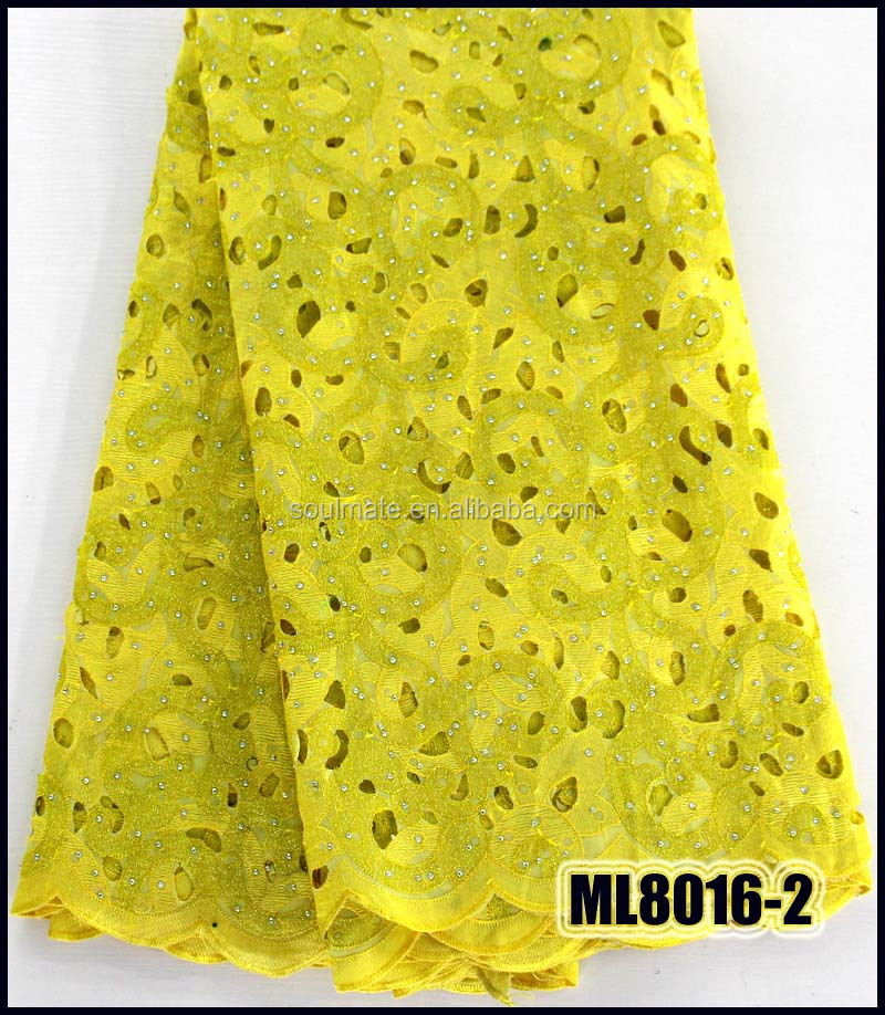 ML8016-2 Big quality African double organza voile lace <strong>fabric</strong>,french lace <strong>fabric</strong> for party dress