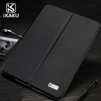 hot selling custom logo 2 foldable both sides transformer stand up pu leather flip cover case for ipad air tablet pro 9.7 inch