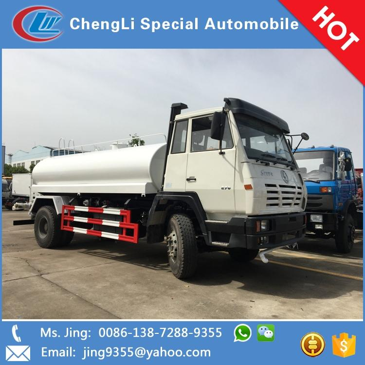 Hot sale steyr 12cbm water tanker transport truck in Mali