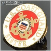 2014 US marines wholesale lapel pins/hot new products for 2014 high quality gold lapel pins