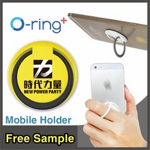 O-ring+ Cheap Promotional Gifts Plastic Smart Mobile Phone Ring Holder