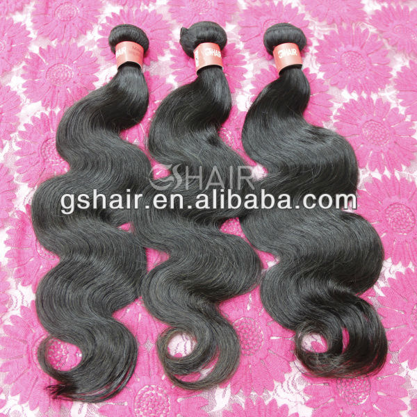 100% unprocessed virgin real human hair for sale china
