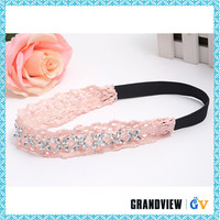 Elegant design 2015 new design crochet headband material
