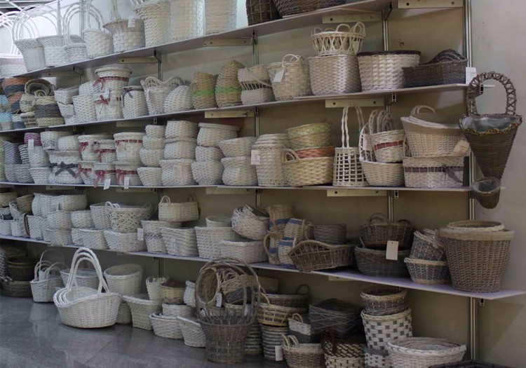 Wicker Basket Manufacturers South Africa : High demand white full willow wicker large flower basket