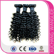 20% off deep curl human hair cheap high quality 100% human remy kbl hair