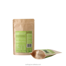 Food grade reusable environmental friendly kraft paper bag Wholesale
