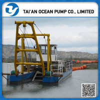cheap price jet suction sand dredger for river dredging with high efficiency sand pumping equipment