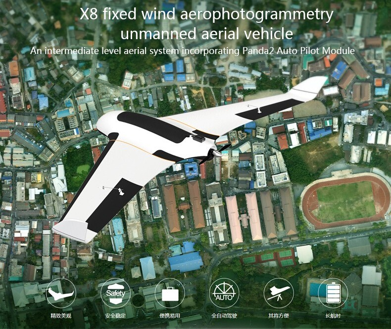 Uav camera Long range professional drone with big payload and gimbal mapping uav