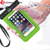 phone case pvc waterproof bag with compass for iphone