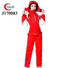 winter stylish warm waterproof ski jacket suit outdoor women