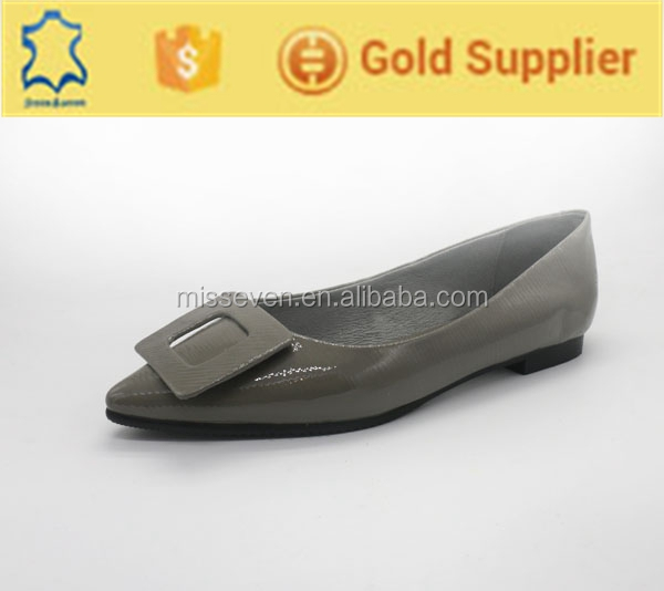High quality genius leather women european casual shoes factory in guangzhou
