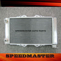 High Quality Aluminum ATV Radiator For Kawasaki kfx450 08-12