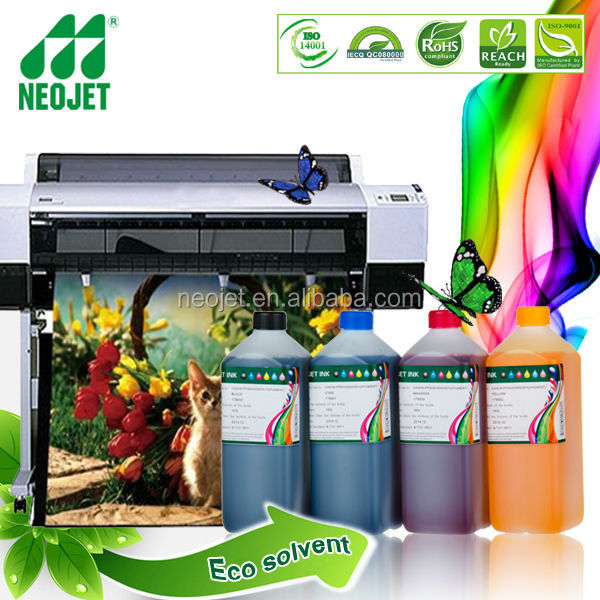 RoHS certification High quality Eco solvent ink for Epson T7000