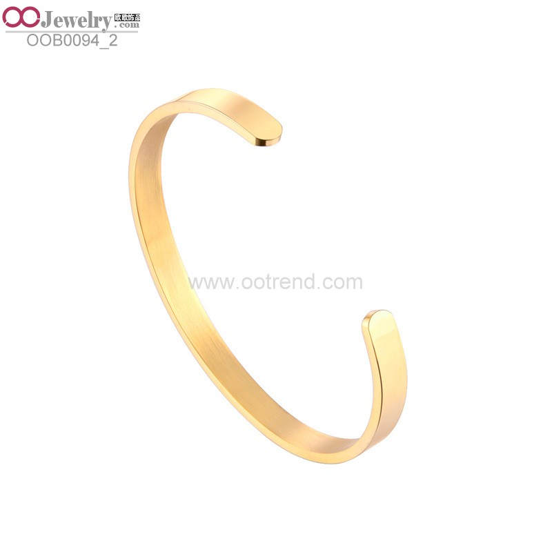 Professional steel bangle with CE certificate