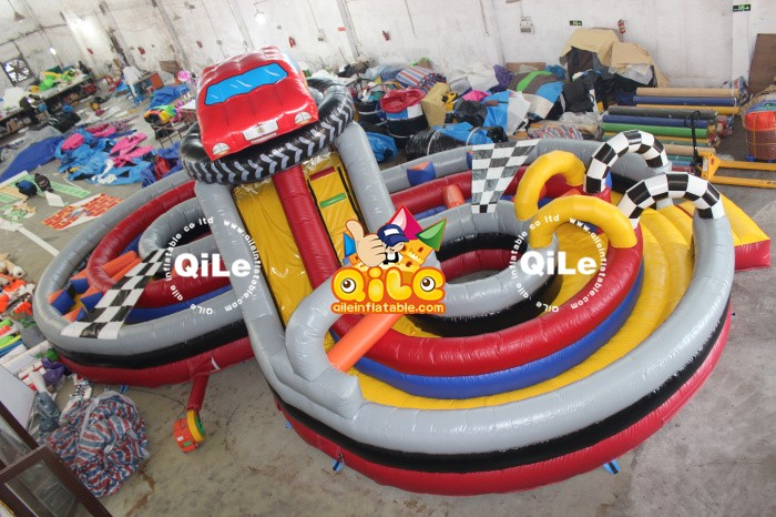 fund raising events fashion kids inflatable toys funland from QILE