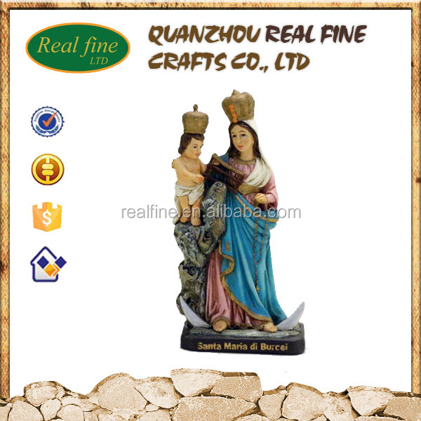 Wholesale religious statues jesus christ and virgin mary - Santa Maria di Bulcei