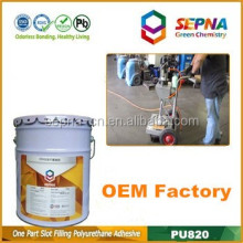OEM grey airport runways repair adhesive pavement filling glue
