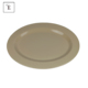 Custom Rolling Trays Melamine Plastic Oval Melamine Serving Food Tray