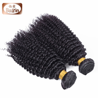 Bolin hair large stock top grade 7A hair extension 100% cambodian virgin kinky curly