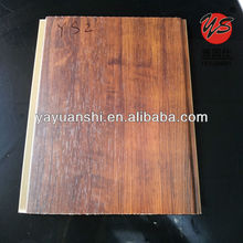 wood laminated plastic wall covering panels