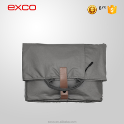 EXCO 150T lining water repellent pattern blank canvas sling bag laptop cheap for 14'' laptops