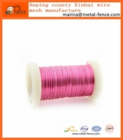 Lead nickel free jewelry color copper wire craft wire