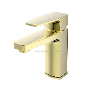 Stable sanitary ware brass basin faucet