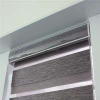 custom interior decorative zebra roller window blinds