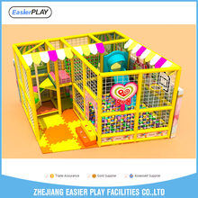 Kids wood indoor soft playground equipment for sale