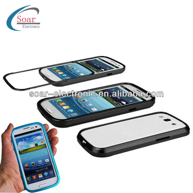 For samsung galaxy s3 metal cleave bumper case
