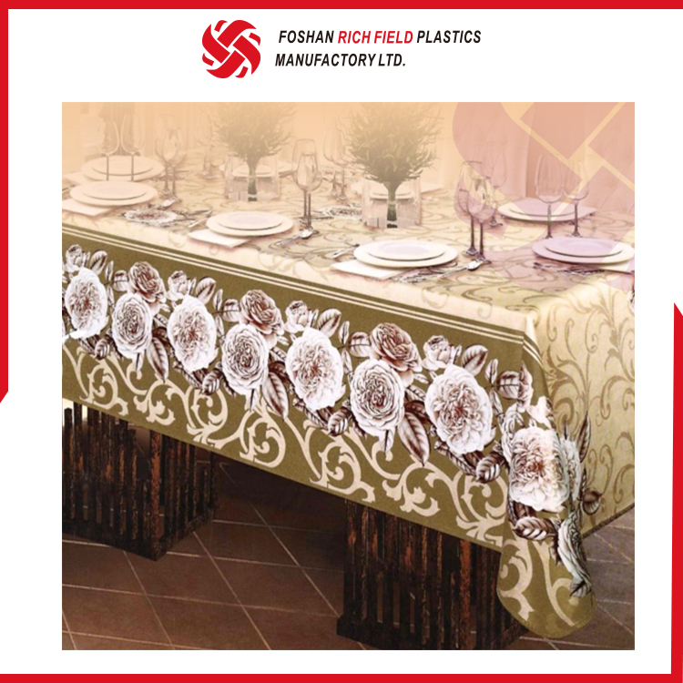 China Factory Custom Unique Kitchen Curtains Tablecloth