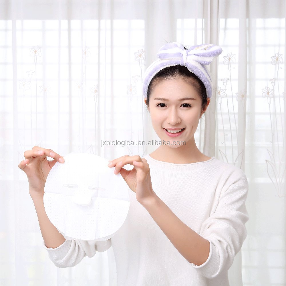 Hyaluronic acid Water embellish Moisturising Invisible Facial Mask/skin care face mask china mamufacturer