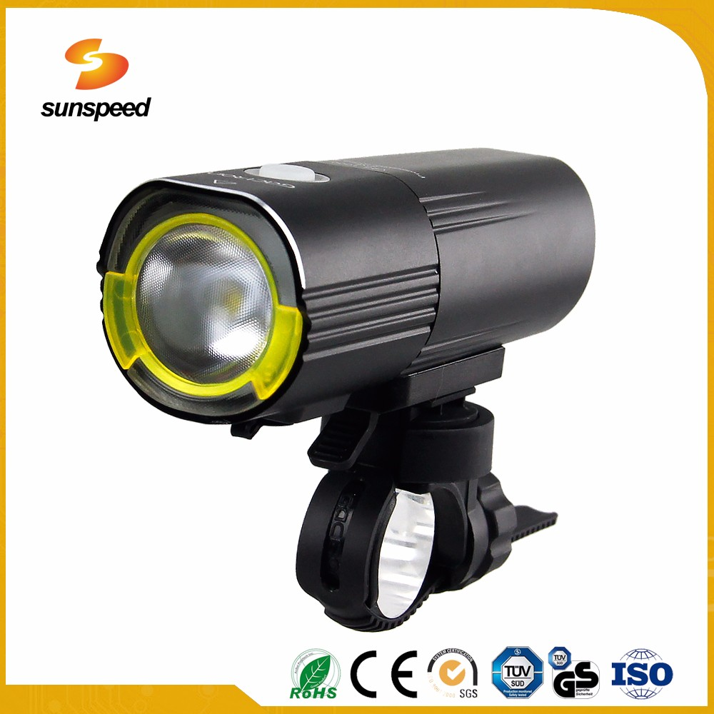 IPX6 usb rechargeable bicycle cree led lamp