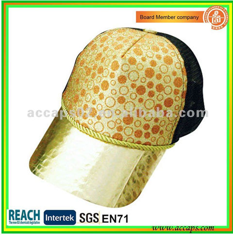 nylon mesh weaving cap